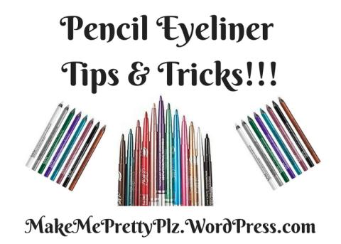 pencil eyeliner blog